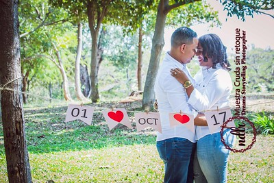 Sesión Save the Date Angelica y Elvis