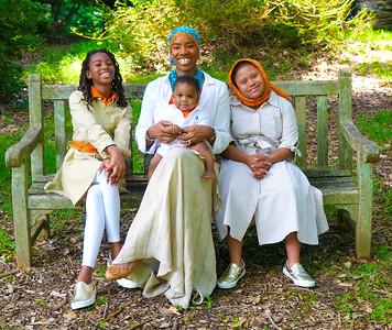 Sister Jamillah Islam Family Shoot