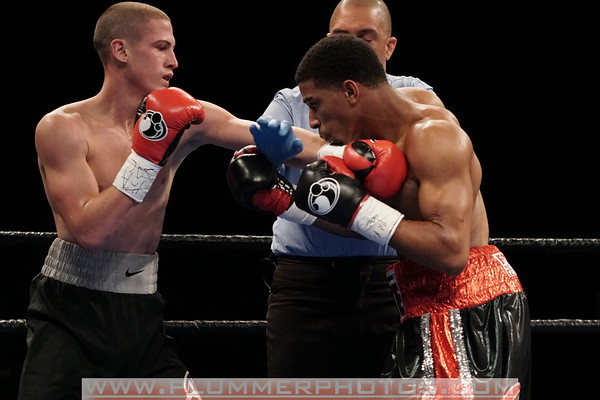 Clarence Booth Defeats Anthony Mercado by TKO
