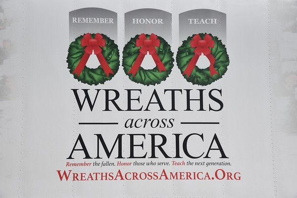 Wreaths Across America at the NJ Vietnam Veterans' Memorial - December 13, 2017