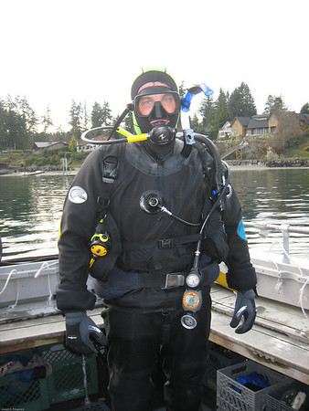 Boat Diving in Puget Sound