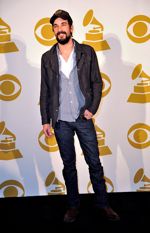 . Country Artist Rhett Walker of the Rhett Walker Band poses for a photo backstage at the Grammy Nominations Concert Live! at Bridgestone Arena on Wednesday, Dec. 5, 2012, in Nashville, Tenn. (Photo by Donn Jones/Invision/AP)