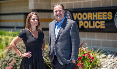 Jason Ravitz and Michelle Political Pictures Voorhees NJ