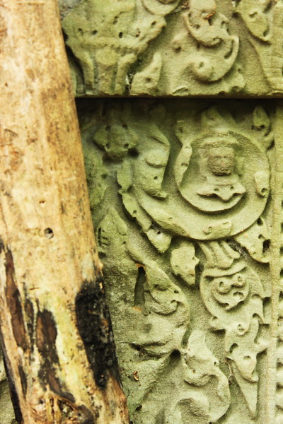 Very detailed carvings are everywhere