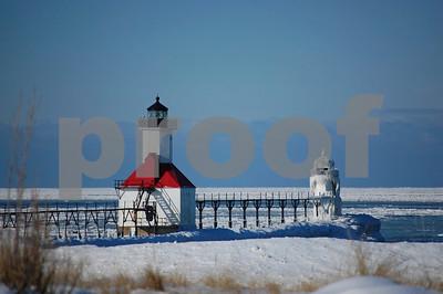 St. Joseph Michigan Lighthouse North Pier