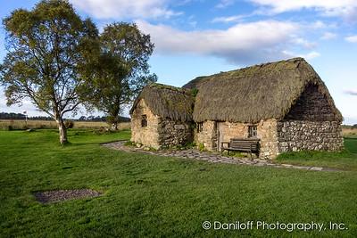 Inverness Area, Culloden Battlefield, Scotland - October 2017