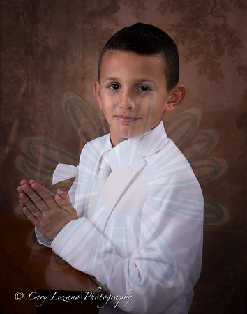 Luca's Communion Session