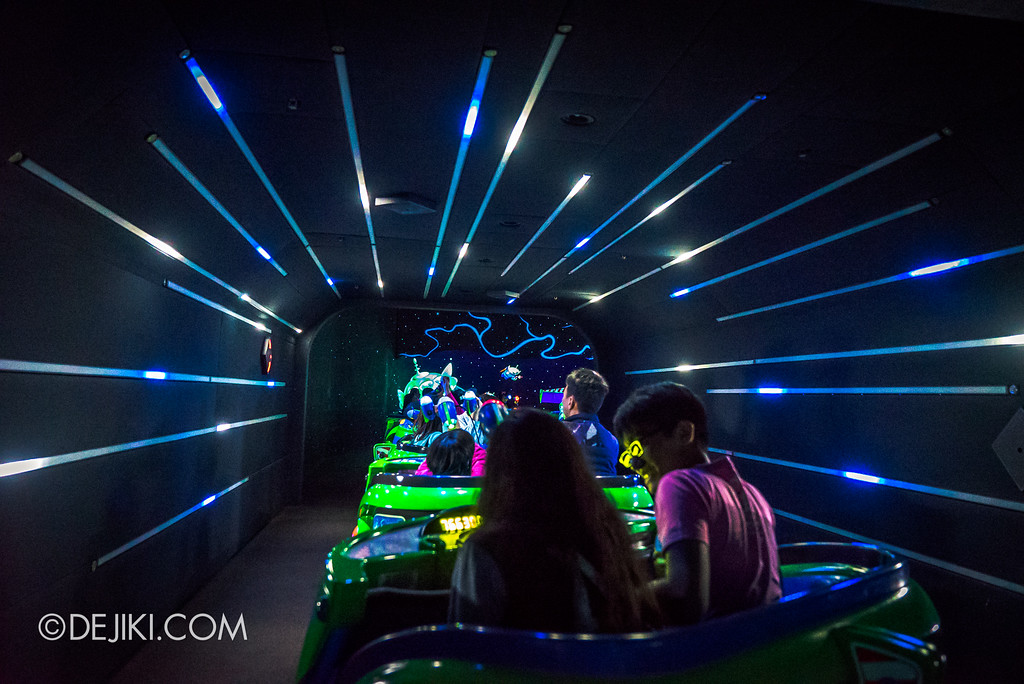 Hong Kong Disneyland Buzz Lightyear Astro Blasters Last Mission - Hyperspeed Tunnel