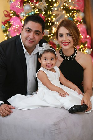Joel, Cynthia y Valeria Navidad