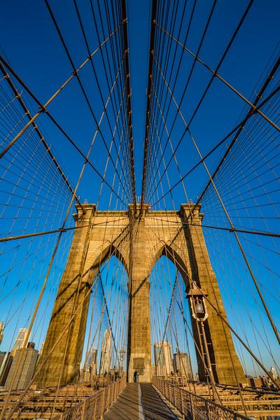 Brooklyn Bridge at Sunrise 3