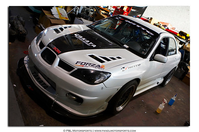 SUBARU:  Takata STI and P&L Time attack car shoot