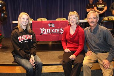 Shannon Wessel - Galena High School, November 14, 2012