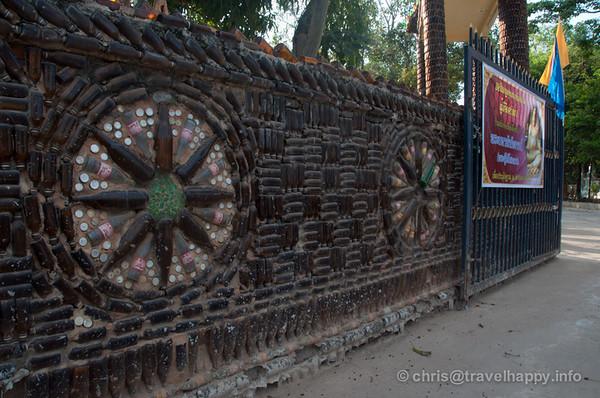 Temple Of A Million Beer Bottles - Wat Lan Khaud, Sisaket