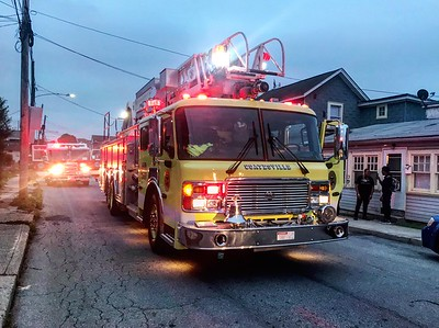 Merchant St - Reported House Fire