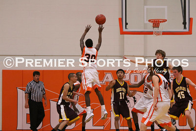 La Porte Boys JV Basketball vs Deer Park 1/7/2011