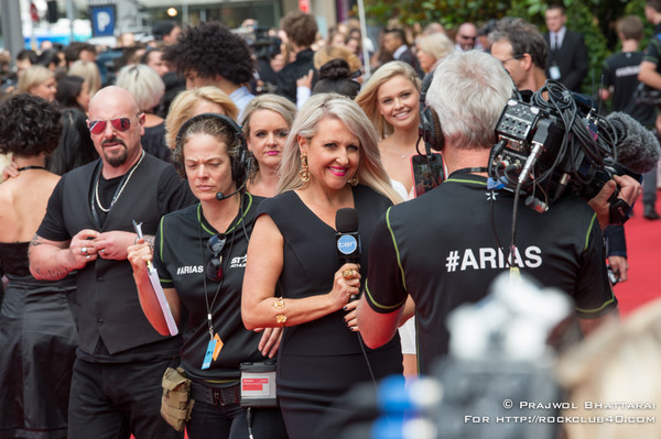 2014 ARIA Awards Connected by Telstra - Red Carpet