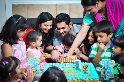 May.11.2014 - Arshaan's 1st Birthday