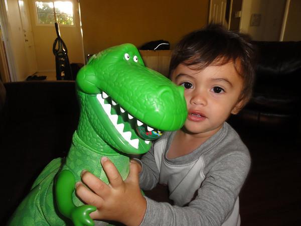T-rex Feeding Time!