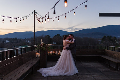 The Rooftop Styled Wedding
