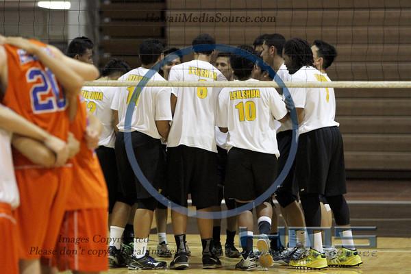 Leilehua Boys Volleyball - Kal 4-15-14