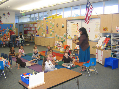 Katie's Class at Pacific Elementary