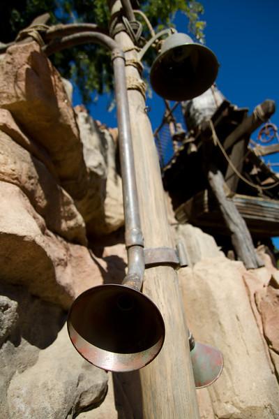 Communications Pipes on Tom Sawyers' Island