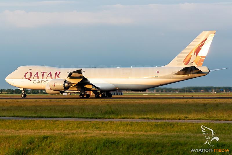 Qatar Cargo / Boeing 747-8 / A7-BGB