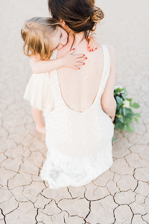 SWEET DRY LAKE BED ELOPEMENT