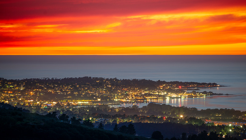 Sunset on the Monterey Peninsula - Monterey, CA