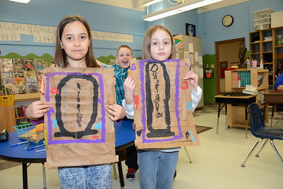 Third Grade Hieroglyphs photos by Gary Baker