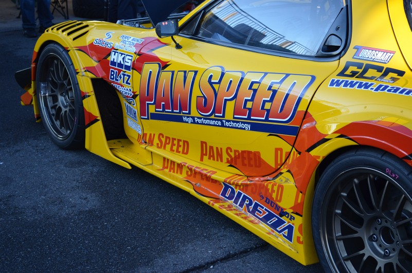 pan speed fd tsukuba