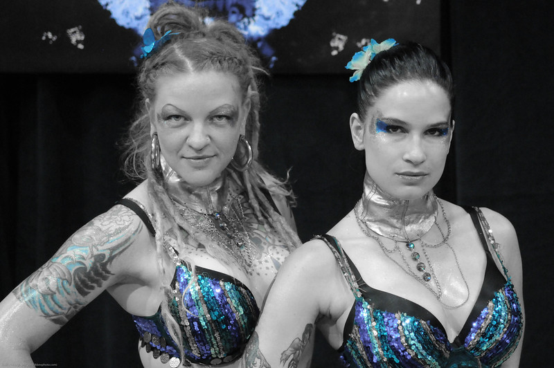 The Pain Kurst Girls - Gia Maze and Olivia Black