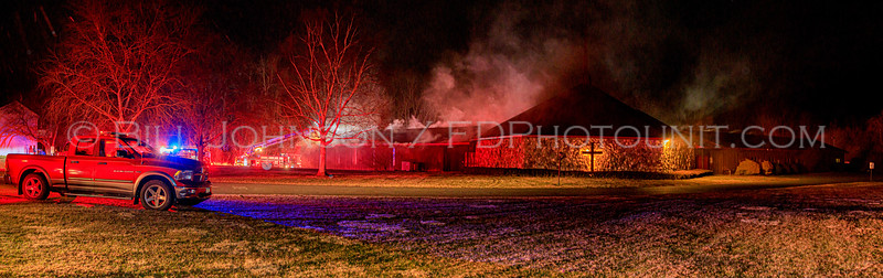 Commercial Structure Fire - New Horizons Church - De Garmo Rd. - Arlington Fire District - 3/6/2020