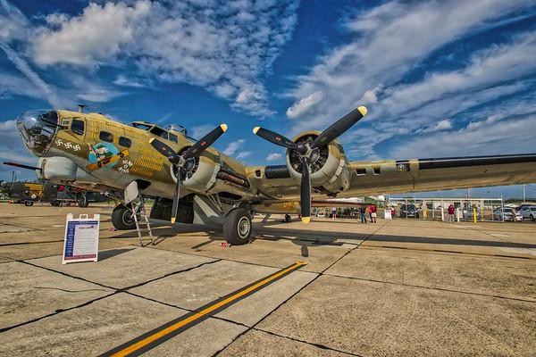 WW 2 War Planes in Millville, NJ