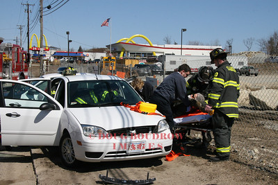 Saugus, MA - MVA, Rt 1 North, 3-25-08
