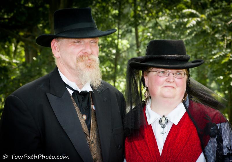 Civil War Re-enactment Hale Farm and Village Cuyahoga Valley National Park Bath, OH