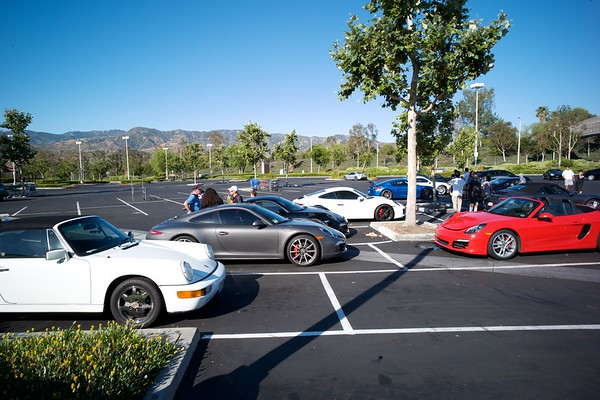 Cars (Porsche Event and Concourse d'Elegance)