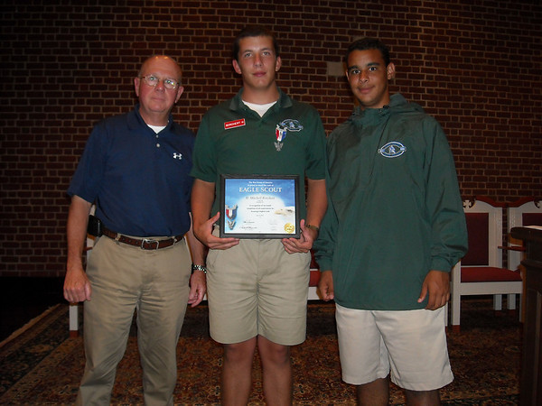 Eagle Scout Award Presented