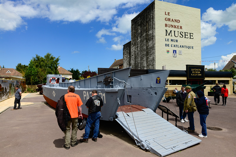 Landing craft used in the movie Saving Private Ryan