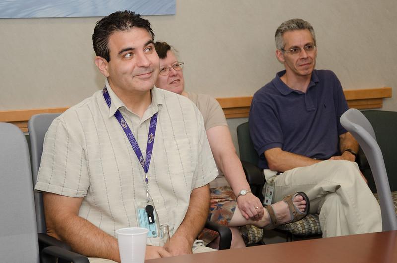 George Hilton -- Bruce Woodgate retirement party, NASA/GSFC, June 2013