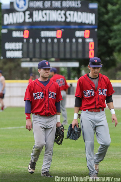 Brantford Red Sox at Guelph Royals June 19, 2018