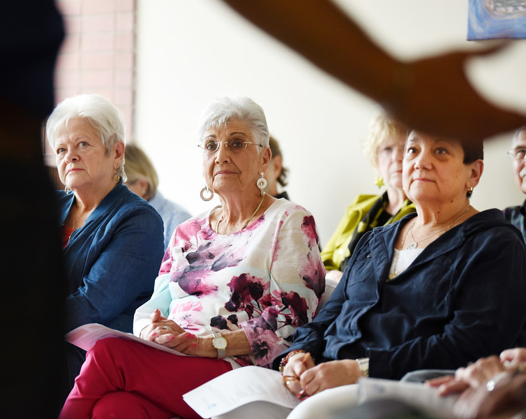 Harold Aughton/Butler Eagle: (left-right) Evelyn Weiland, Shirley Grossman, and Roberta Gallagher attended the emergency training class put on by the congregation of B'nai Abraham Wednesday, June 12.