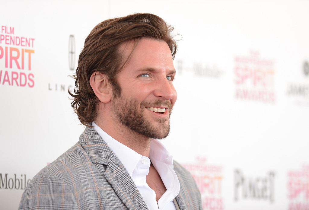 . SANTA MONICA, CA - FEBRUARY 23:  Actor Bradley Cooper attends the 2013 Film Independent Spirit Awards at Santa Monica Beach on February 23, 2013 in Santa Monica, California.  (Photo by Jason Merritt/Getty Images)
