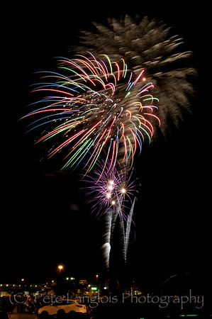 4th of July Fireworks - Derry NH