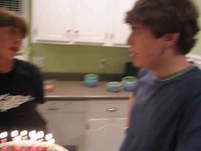 Connor's 15th Birthday