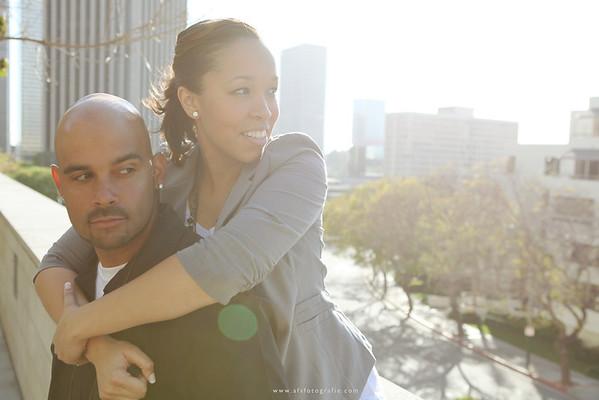 Shireene + Steve | Walt Disney Concert Hall Engagement
