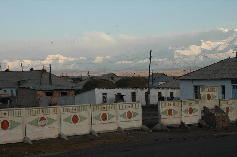 Views of Sary Tash Village - Kyrgyzstan