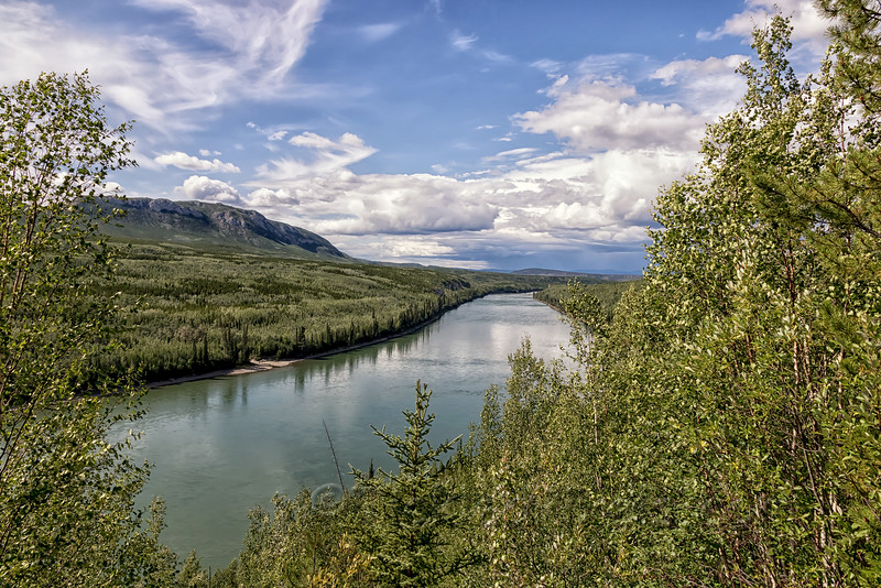 Liard River from Allen's Lookout