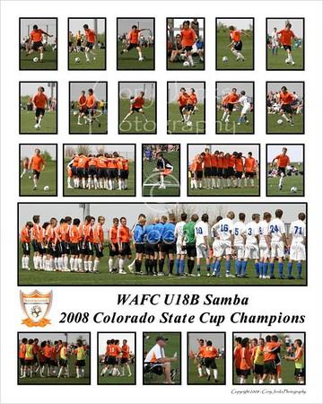 WAFC U18B State Cup Poster