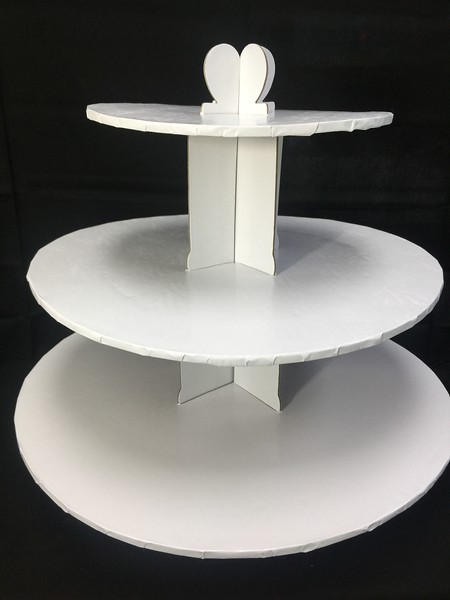 Disposable 24 Cupcake Nice Reusable Stand. FOR SALE $13
